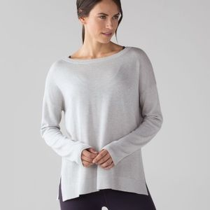 Lululemon Athletica Well being Crew neck Sweater 2